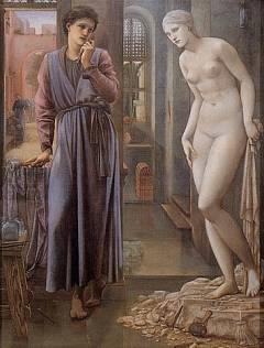 Пигмалион и Галатея как воплощенная любовь