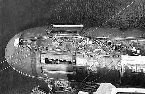 Проект 685 «Плавник» - опытная глубоководная торпедная атомная подводная лодка MrAxT